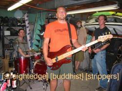 Straightedge Buddhist Strippers