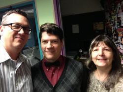 John, Austin & Vicky